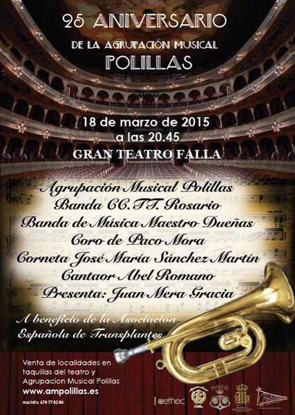 Polillas XXV Aniversario Gran Teatro Falla